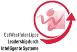 Logo: OstWestfalenLippe Leadership durch intelligente Systeme